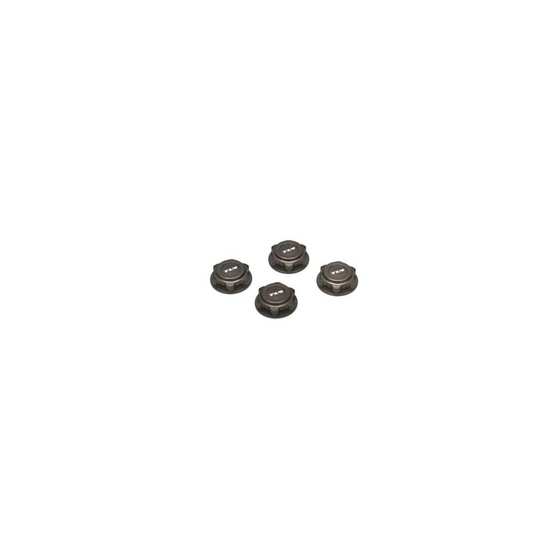 TLR3538 Covered 17mm Wheel Nuts, Alum: 8B/8T 2.0 TLR3538 Team Losi Racing RSRC
