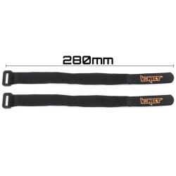 KN-LIPO.STRAP-280 Strap pour accus LiPo 280 mm (2 pieces) KN-LIPO.STRAP-280 Konect RSRC