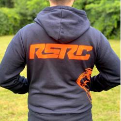 """Sweat zippé à capuche RSRC """"THE SHARK"""" RSRC RSRC-02 - RSRC..."""