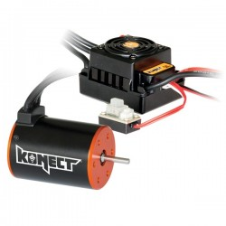 Controleur Brushless 1/10 50A Waterproof KN-10BL50-WP Konect...