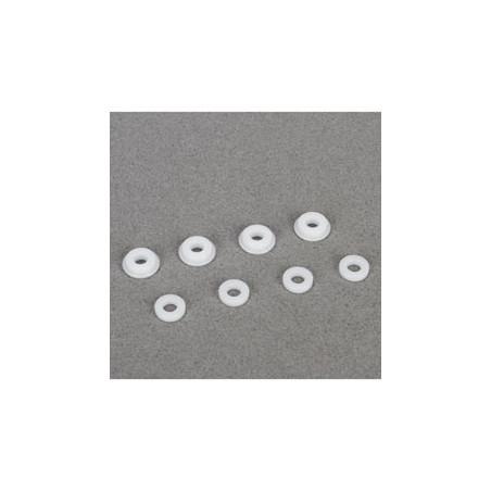 Inserts et guide de tiges d'amortisseurs (8): 8B 3.0 TLR243013