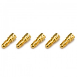 Gold plated Connector PK 3.5mm male (5 pieces) KN-130307-5M ...