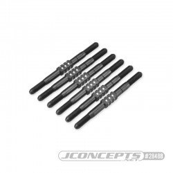 TLR, 22 5.0 3.5mm Fin turnbuckle kit, 6pc - black JConcepts ...
