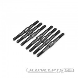 TLR, 22X-4 3.5mm Fin turnbuckle kit, 7pc - black JConcepts J...