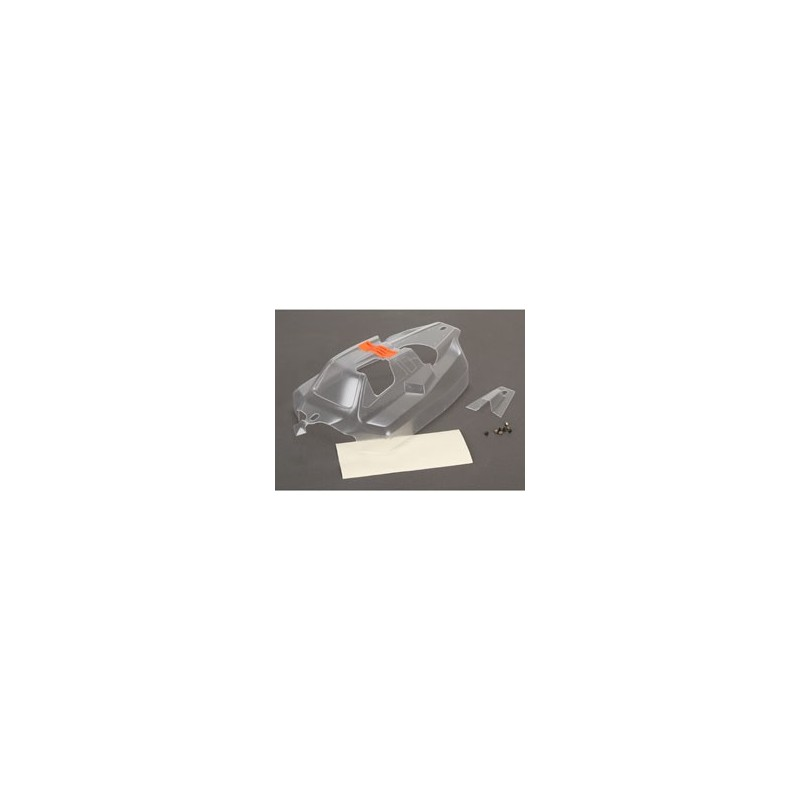 TLR240008 Cab Forward Body, Clear: 8IGHT 4.0 TLR240008 Team Losi Racing RSRC