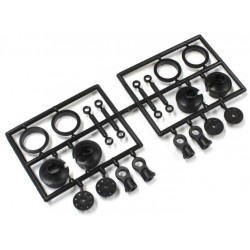 IF346-05C CHAPES/PIECES PLASTIQUE D'AMORTISSEUR TKI2-MP10 IF346-05C Kyosho RSRC