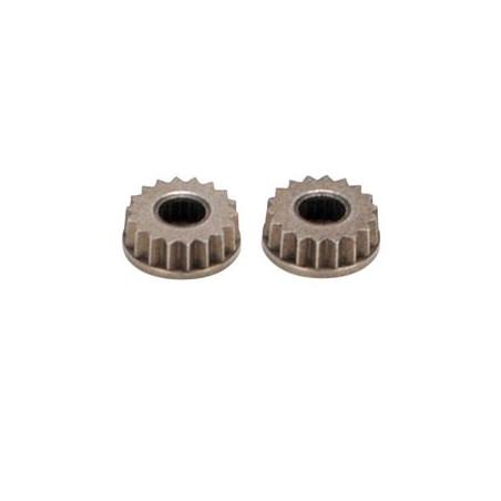 Insert 23s JR pour bras de servo metal (2) LOSA99041
