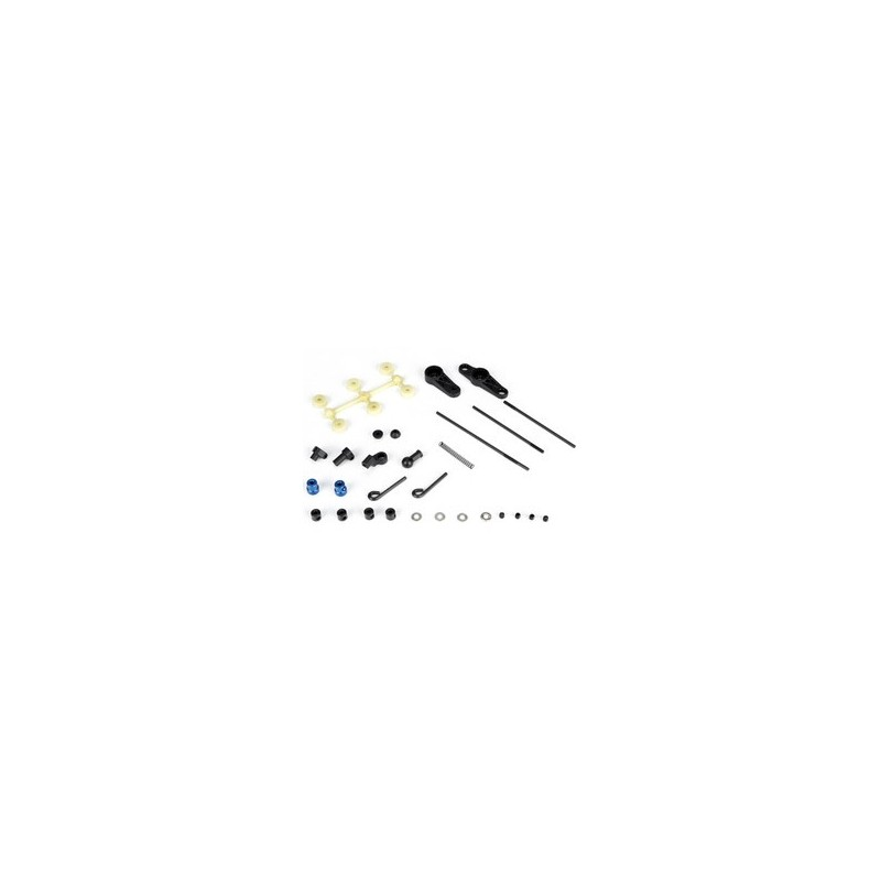 LOSA9168 Throttle/brake Link Set: 8B 2.0 LOSA9168  RSRC