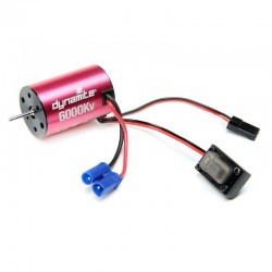 Brushless Motor/ESC 2-in-1 Combo, 6000Kv: Mini-T 2.0 Losi DY...