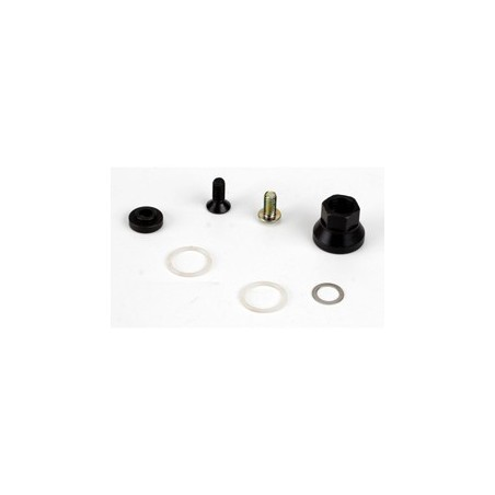 Clutch Nut & Hardware, 4 Shoe: 8B, 8T LOSA9103