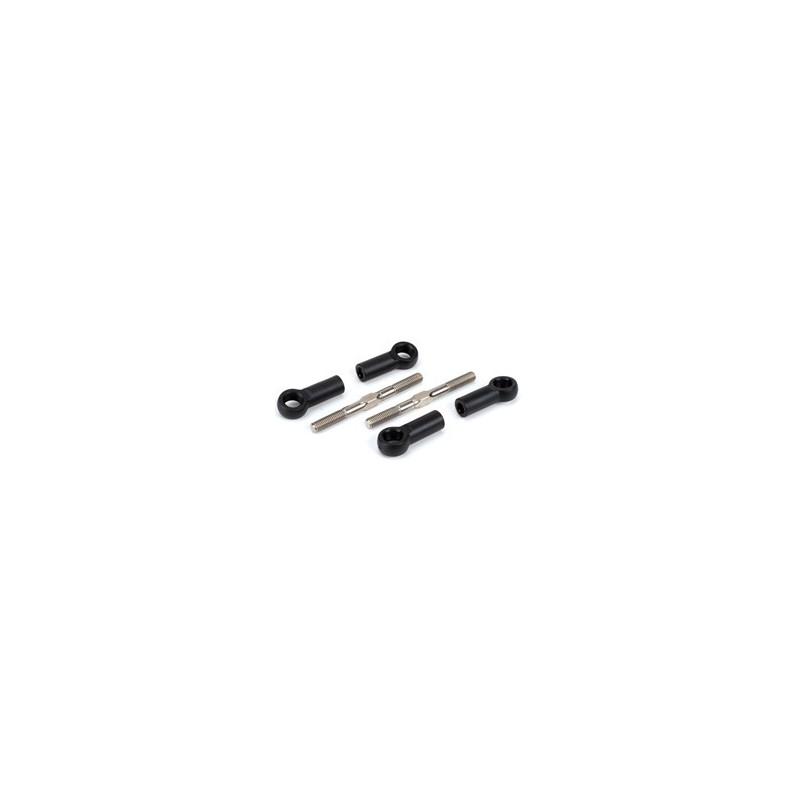 LOSA6540 Turnbuckles 5mmx60mm w/Ends:8B LOSA6540  RSRC