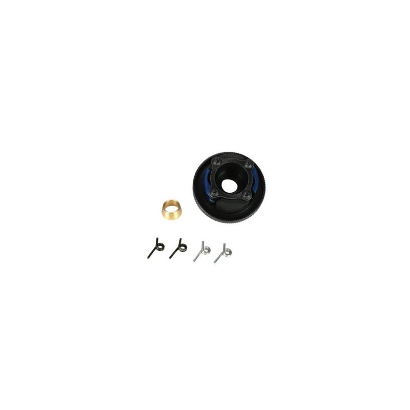 TLR9102 Prebuilt Clutch, 4 Shoe, Steel: 8B, 8T TLR9102  RSRC