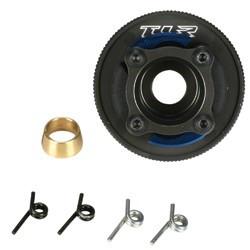 TLR9101 Prebuilt Clutch, 4 Shoe, HA Alum: 8B, 8T Team Losi Racing RSRC