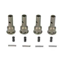 F/R CV Driveshaft Axles, Aluminum (4): 8B, 8T 2.0
