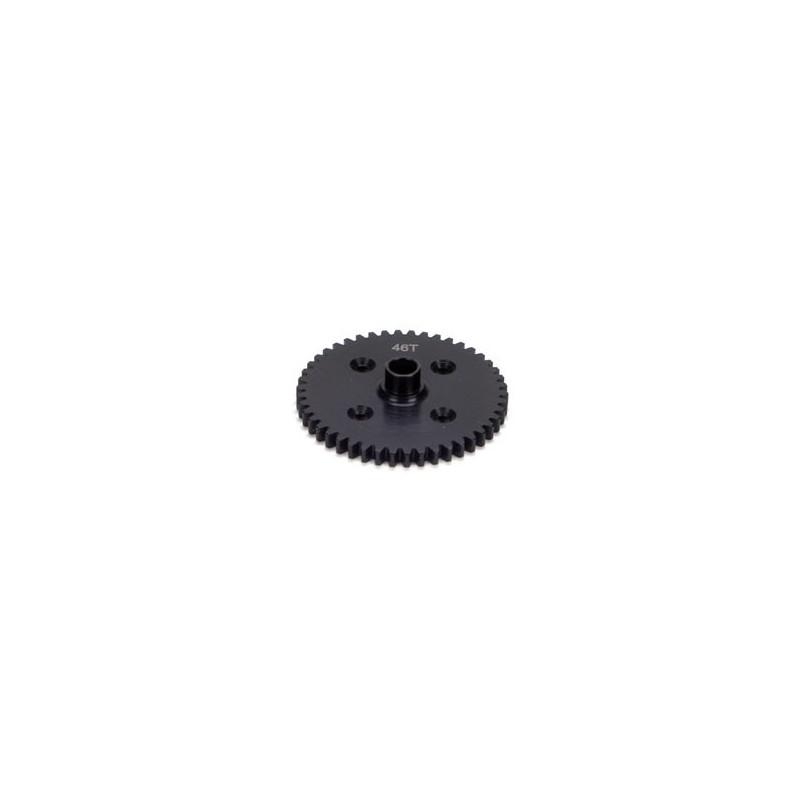 LOSA3551 Center Diff 46T Spur Gear Steel: 8B/8T  RSRC
