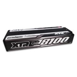 XTR-0254 Batterie XTR lipo 8100mAh HV 2S 7,6V stick 120C XTR RSRC