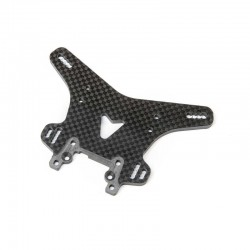 TLR344049 Carbon Front Shock Tower: 8XT Team Losi Racing RSRC