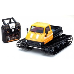 Kyosho Trail King 1:12 Readyset EP (KT431S) - Type1 Jaune Ky...