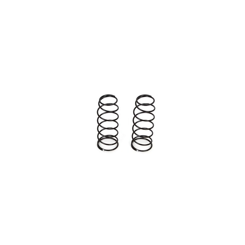 16mm, FR Shk Spring, 4.6 Rate, Silver (2): 8B 3.0