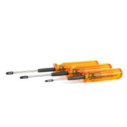 Lot d'outils MIP à boules 2mm, 2.5mm, 3.0mm MIP MIP9506 - RS...
