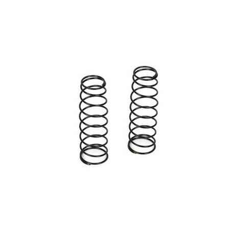 Ressorts d'amortisseurs 16mm ARRIERE 3.8 Rate, Vert (2): 8B 3.0 TLR243020