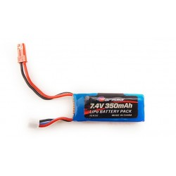 350mAh 2S 7.4V GT24B LiPo battery Carisma 15432 - RSRC...