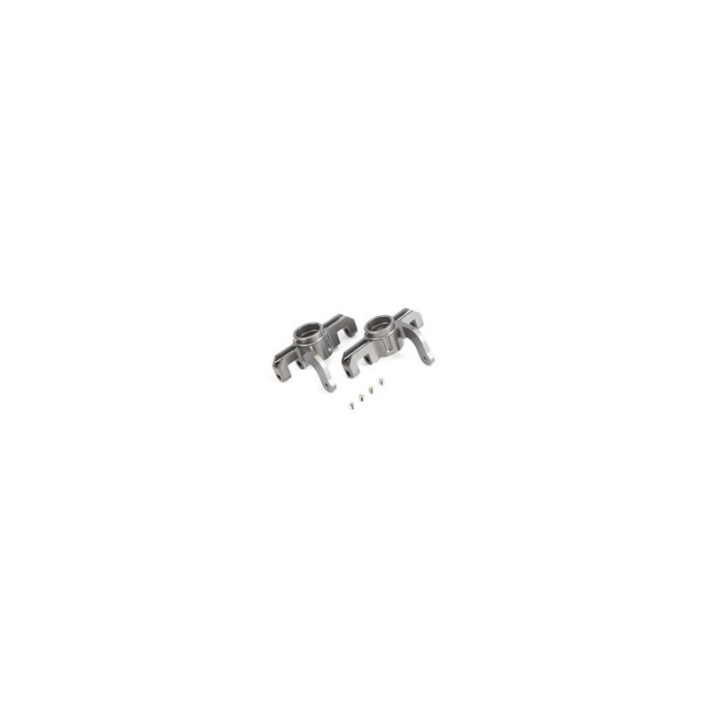 TLR344002 TLR344002 Aluminum Front Hub Carrier Set: 8IGHT/T/E 4.0 Team Losi Racing RSRC