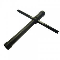 15002 Cross Wrench (8mm /10mm Socket + 5mm Hex) RSRC RSRC