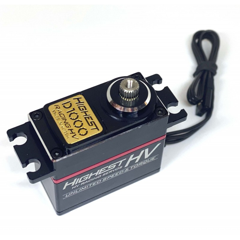 D1000 HV Servo (1/8) Highest RC D1000 - RSRC...