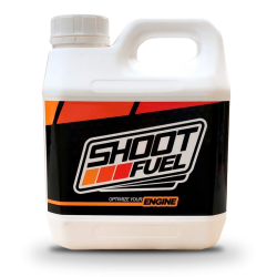 SHOOT FUEL 2 LITERS 12% PREMIUM On-road for nitro engines all scales