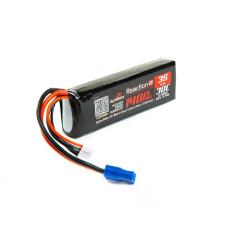 Minis -Batterie LiPo 11,1V 3S 1400mA 30C, long /EC3 DYN1477 ...