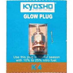Kyosho K4 Glow plug for nitro engines, standard type 74491 - RSRC