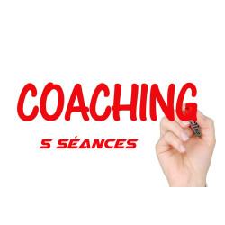 Coaching mental: Pack de 5 séances avec notre coach, devenez meilleur