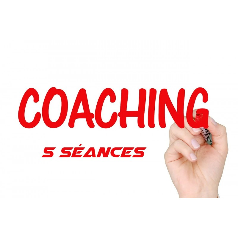 Coaching mental: Pack de 5 séances