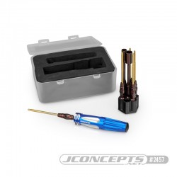 Hex and nuts drivers tool bits with handle (7 tips) Jconcepts