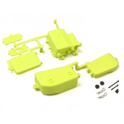Fluo Yellow Receiver and Battery Box Kyosho Inferno MP9-MP10 IFF001KYB