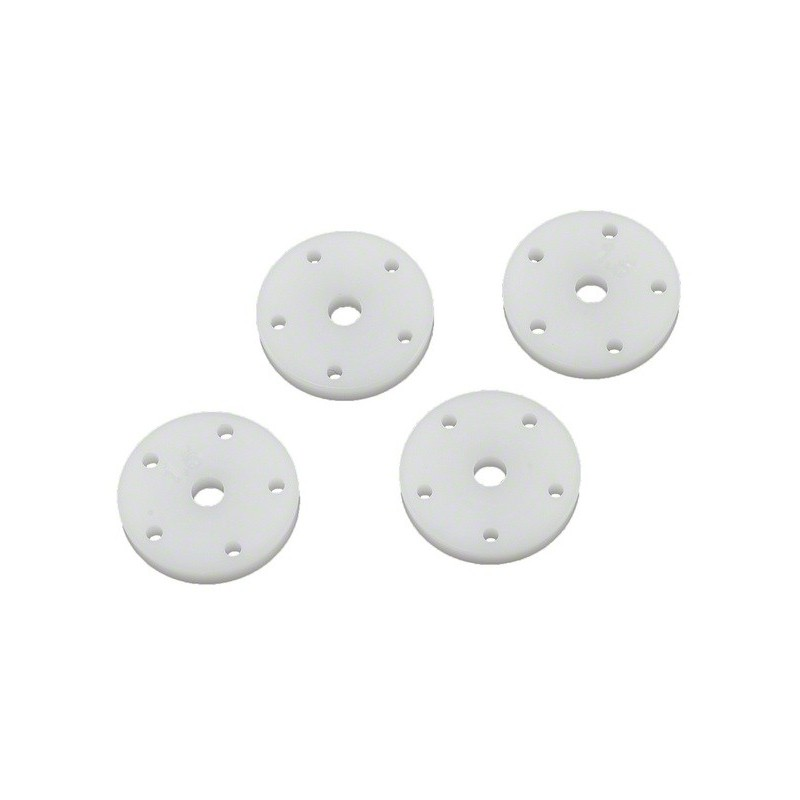TLR243023 16mm Shock Piston, 5 holes 1.4 (2) and 5 holes 1.5 (2) TLR243023 Team Losi Racing RSRC