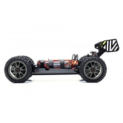 KYOSHO INFERNO NEO 3.0VE 1:8 RC BRUSHLESS READYSET Green battery view