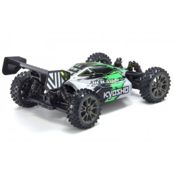 KYOSHO INFERNO NEO 3.0VE 1:8 RC BRUSHLESS READYSET Green back view