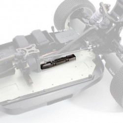 Aluminium rear chassis brace for Kyosho Inferno MP10e IFW504 mounted details