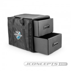 Jconcepts Finish Line Compact racing bag with drawers 2037