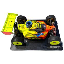 RSRC carbon fiber setup board for 1/8 and 1/10 buggys