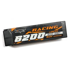 Batterie Konect Lipo 6200mah 15.2V 130C Low Profile (LCG) bas