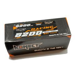 Batterie Konect Lipo 6200mah 15.2V 130C Low Profile (LCG) buggy brushless 1/8 emballage