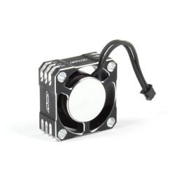 25mm Aluminum High Speed Cooling Fan Black/Silver