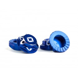 Triad Capped Wheel nuts Blue (4)