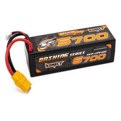 Konect Lipo Battery 6700mah 14.8V 60C 4S XT90