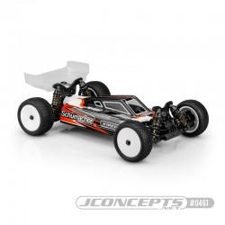 Jconcepts S2 body for Schumacher Car L1 Evo with turf/carpet wings