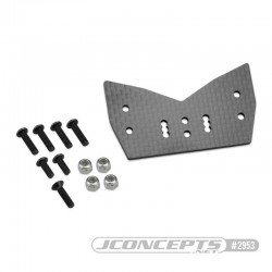 Support carbone TLR 8XT pour carrosserie F2 Truggy Bruggy 2953