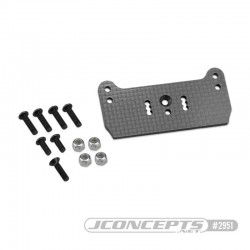 Support carbone Associated RC8T3 pour carrosserie F2 Truggy Bruggy 2951